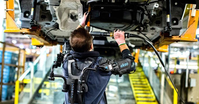 Risultati immagini per esoscheletri auto teco milano