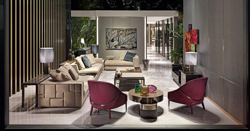 Visionnaire porta il lusso made in italy in california - Studiare interior design ...
