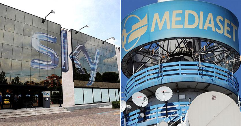 Medaset-Sky, accordo storico per le pay tv