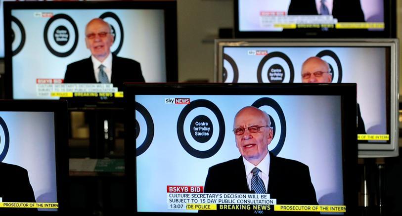 Fox, Murdoch potrebbe separare Sky News per avere ok su takevoer