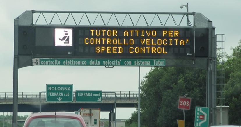 Autostrade: azienda, Tutor sarà sempre attivo ma sostituito