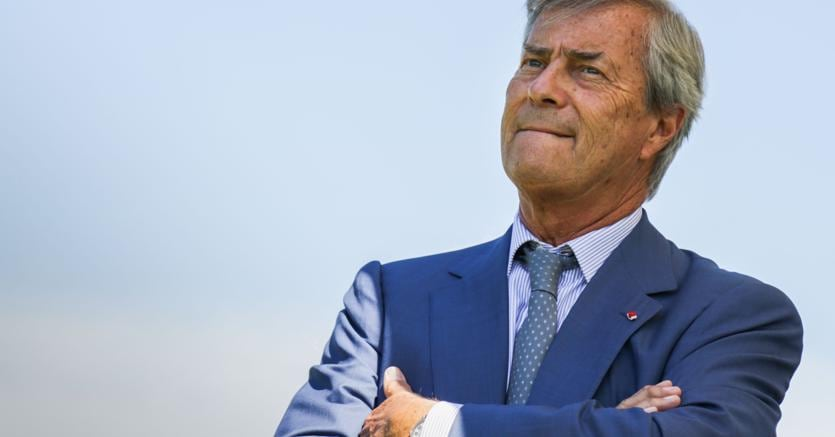 Il finanziere francese e capo di Vivendi, Vincent Bolloré (Afp)