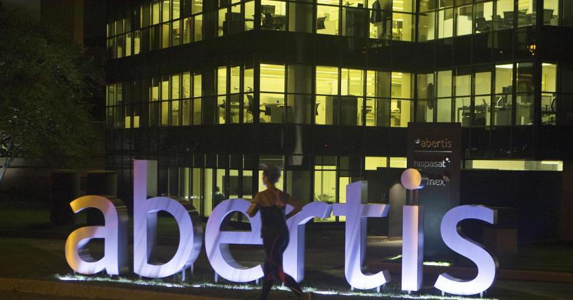 Gli uffici di Abertis, a Madrid (Ap)