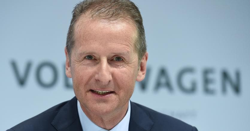Herbert Diess nuovo CEO Volkswagen al posto di Matthias Muller
