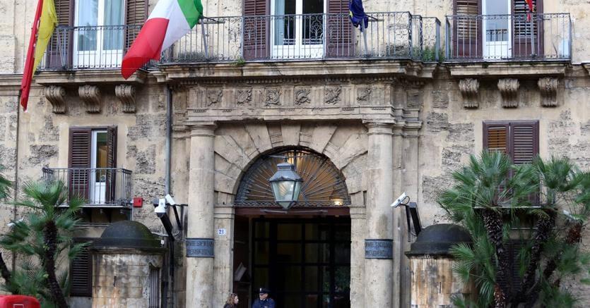Palazzo d'Orleans, sede della presidenza della Regione Siclia, Palermo. (Fotogramma)