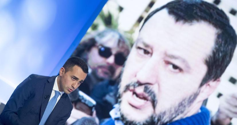 Luigi Di Maio e Matteo Salvini
