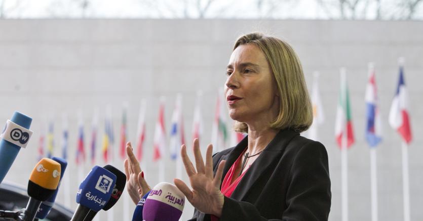 Federica Mogherini, rappresentante Ue per la politica estera