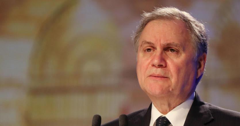 Il governatore della Banca d'Italia Ignazio Visco (foto Ansa)