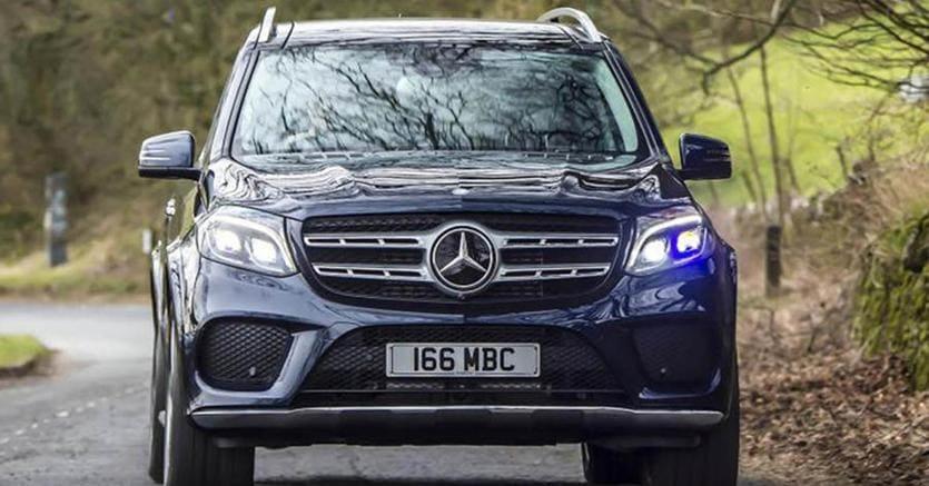 Mercedes Maybach Ultimate Luxury, il grande SUV futuristico
