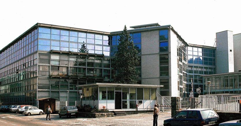 La sede della Olivetti a Ivrea