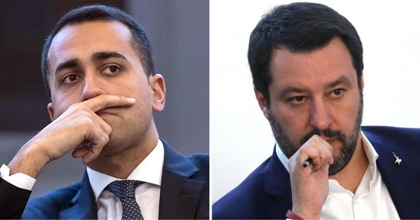Luigi Di Maio e Matte Salvini (Ansa)