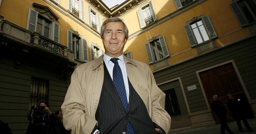 Il finanziere bretone Vincent Bolloré (Ansa)