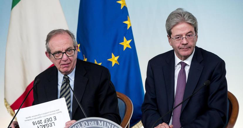 DEF, via libera dal CdM. PIL 2018 visto all'1,5%