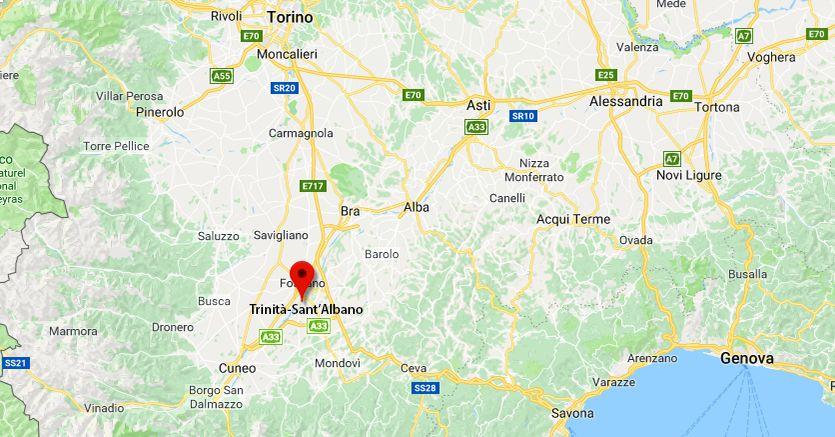 Il treno Savona-Torino deragliato a Trinità Sant'Albano
