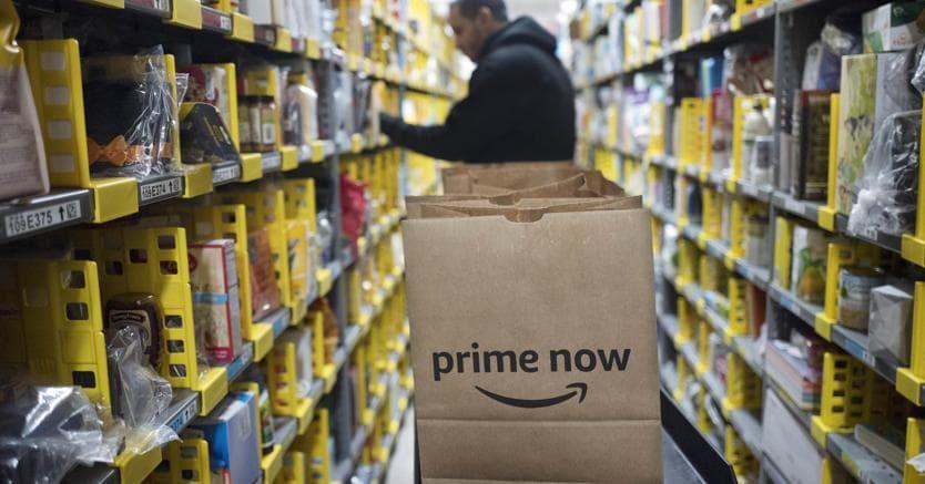 Amazon apre un nuovo deposito a Buccinasco: