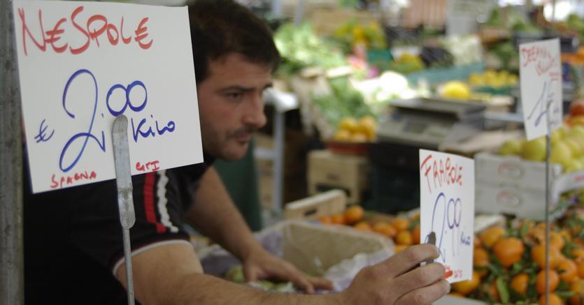 Istat, frena l'inflazione ma corre il carrello della spesa