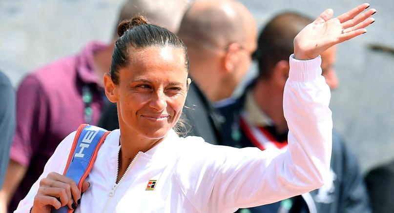 L'addio al tennis di Roberta Vinci: out contro Krunic