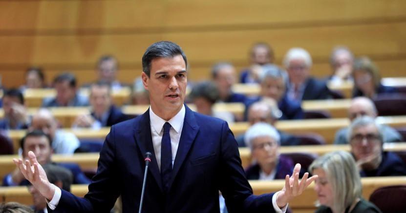 Il premier spagnolo Pedro Sanchez (Epa)
