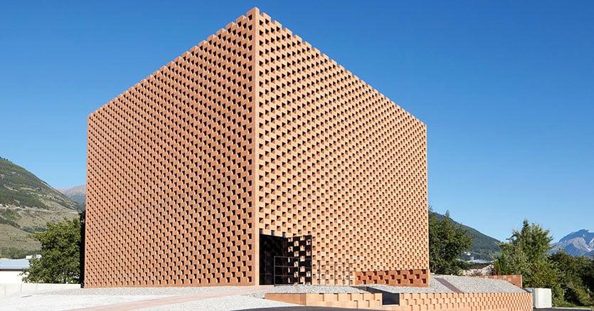 La Puni Distillery progettata da Werner Tscholl