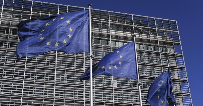 Bruxelles, la sede della Commissione europea (Epa)
