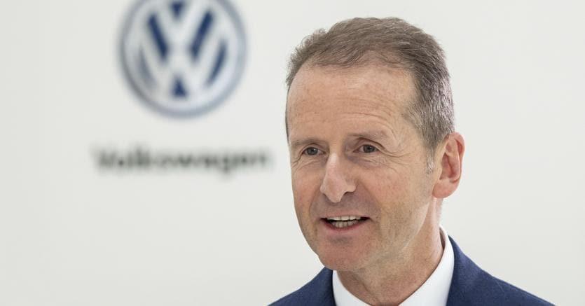 Il ceo di Volkswagen, Herbert Diess (Ap)