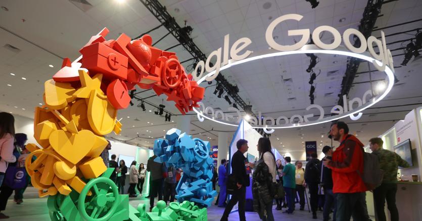 Lo stand Google alla  Game Developers Conference 2019, a San Francisco