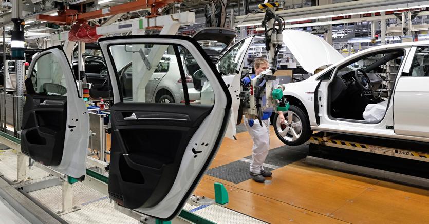 Lo stabilimento Volkswagen di Wolfsburg