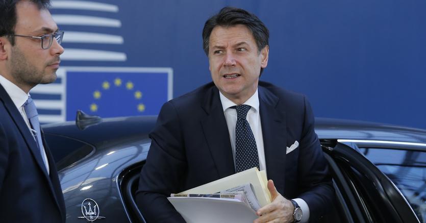 Il presidente del Consiglio Giuseppe Conte partecipa a Bruxelles al Consiglio europeo (Ap)