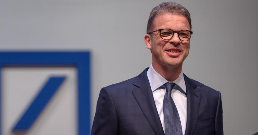 Christian Sewing, amministratore delegato di Deutsche Bank (Epa)