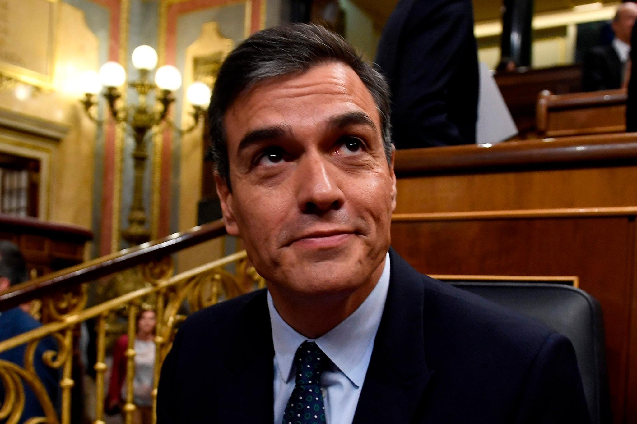 Pedro Sanchez (Afp)
