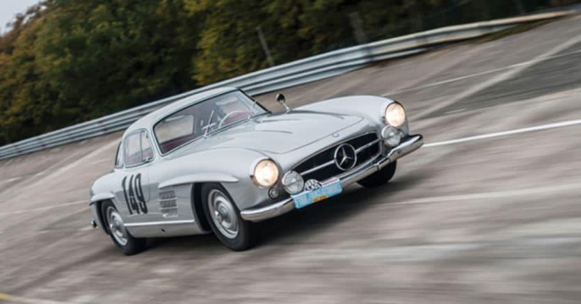 1955 Mercedes-Benz 300 SL 'Sportabteilung' Gullwing. Prezzo stimato: $5,000,000 - $7,000,000. Non venduta