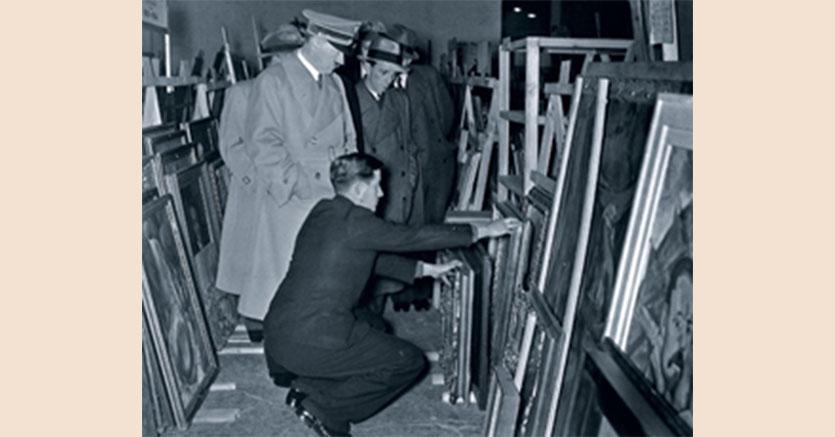 Immagine tratta dalla copertina del libro di Meike Hoffmann, Nicola Kuhn, Hitlers Kunsthändler. Hildebrand Gurlitt 1895-1956. Die Biographie Source: C. H. Beck (https://www.kulturgutverluste.de/Content/02_Aktuelles/EN/New-Releases/2016/2016_Hildebrand-Gurlitt.html)