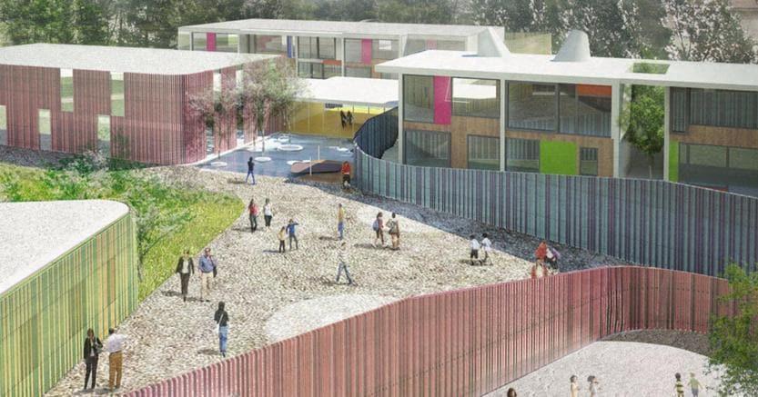 Campus scolastico a cernusco sul naviglio di lorenzo - Arte casa cernusco ...