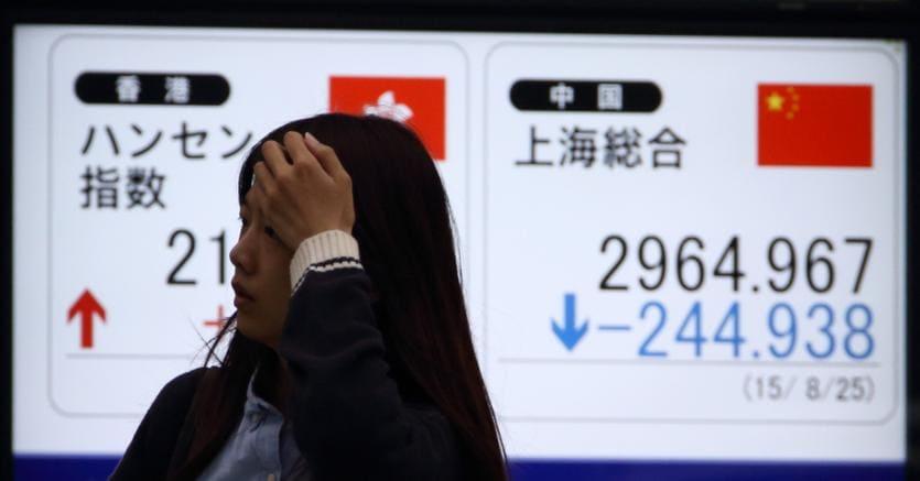 """Agosto 2015: """"Black Monday"""" in Cina - Bloomberg"""