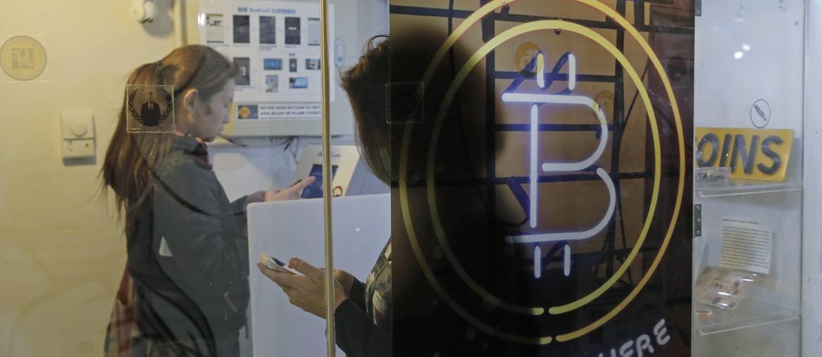 Bancomat bitcoin a Hong Kong (Ap)