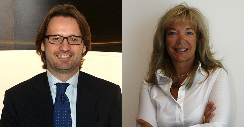 Da sinistra Marylene Alix (1° e 3°) e Pierluca Beltramelli (2°)