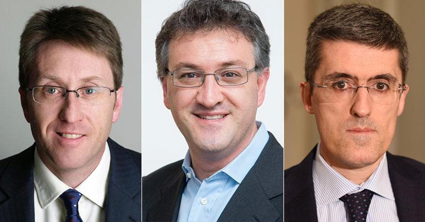 Da sinistra  Richard Hannam (2°), Dennis Marco Montagna (1°),  Massimo Aloi (3°)