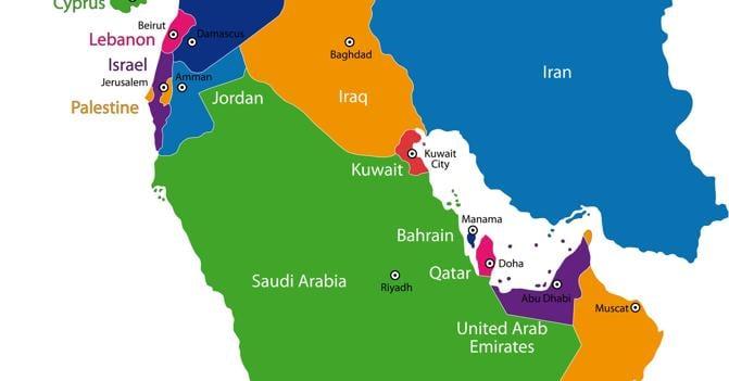 Cartina paesi medio oriente my blog - Immagini del cardellino orientale ...
