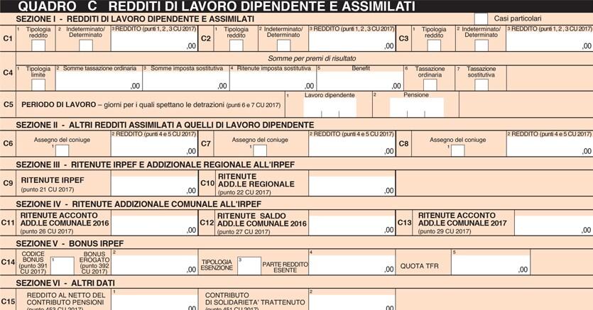 4/16 Le Trappole Del 730: Redditi Di Lavoro O Pensione