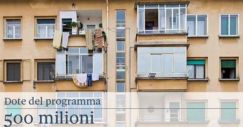 I tasselli di casa italia case popolari for Progettista di piano casa online