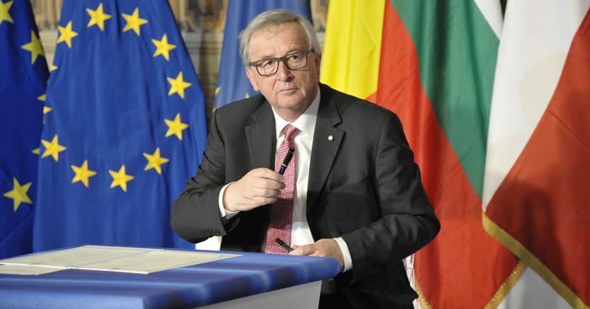 Risultati immagini per foto di Juncker Presidente commissione europea