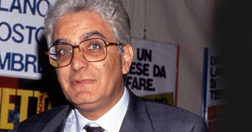 Sergio Mattarella nel 1993