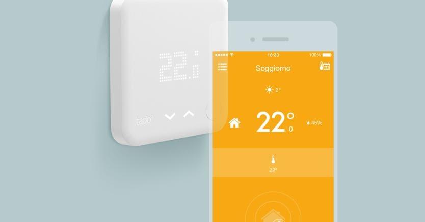 L 39 iot di tado parla con amazon echo e apple homekit for Valvole termostatiche netatmo