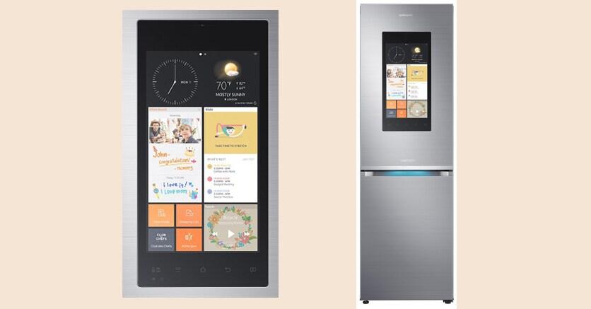 La spesa la fa il frigorifero con il samsung family hub for Frigorifero samsung con schermo