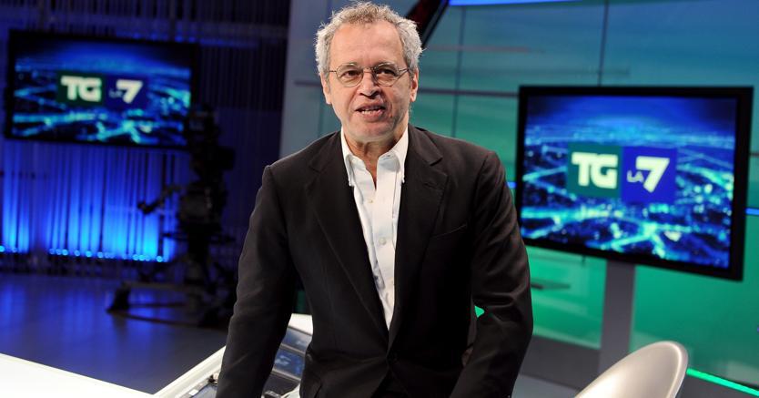 Enrico Mentana (Ansa)
