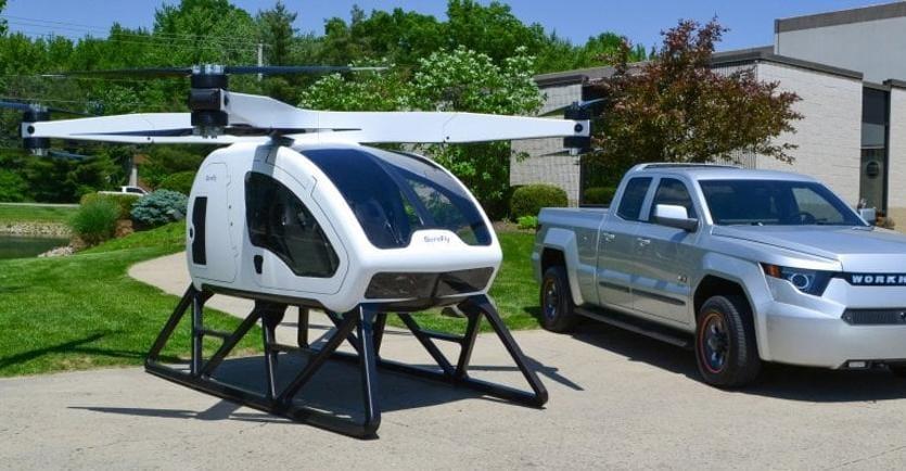 Elicottero 7 Posti : Droni arriva il mini elicottero a due posti per viaggiare