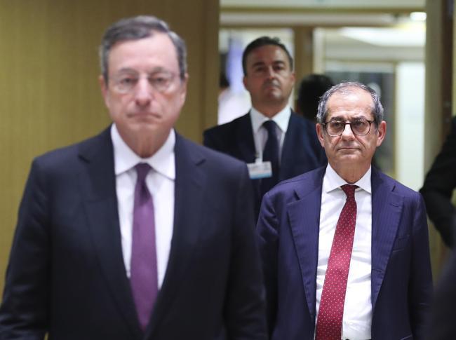 Il presidente della Bce, Mario Draghi (ANSA)