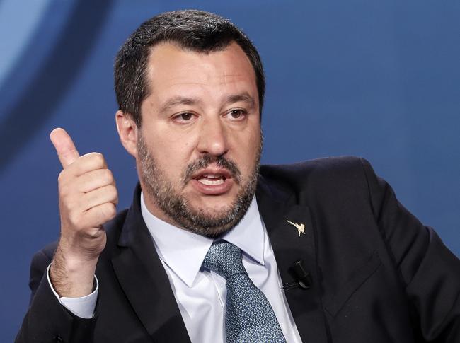 IMatteo Salvini (Ansa)