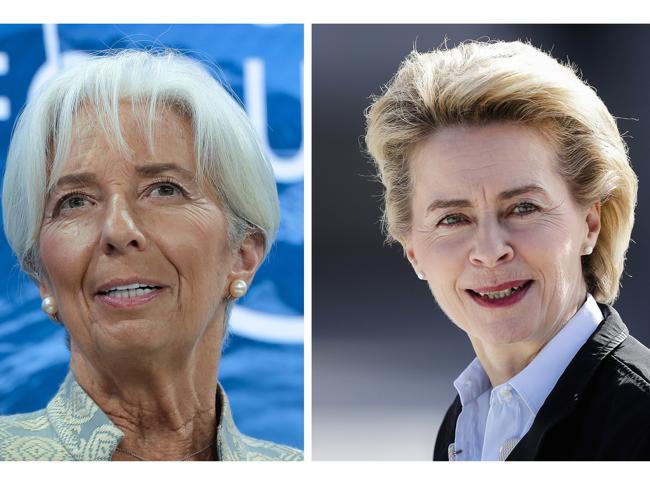 Christine Lagarde e Ursula von der Leyen (AP)