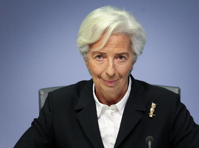 Christine Lagarde (Afp)